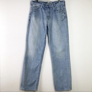 BKE Denim Seth Light Wash Straight Leg 100% Cotton Denim Jeans Size 36XL